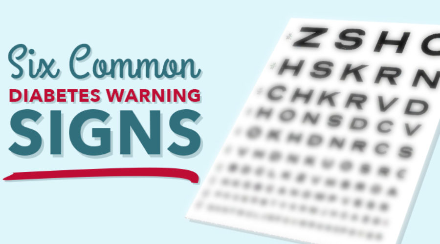 6 Common Diabetes Warning Signs